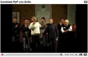 Candidati e Grillo