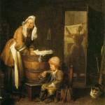 Chardin - La lavandaia