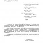 2009.09.01 – Lettera Ufficio Presidente Consiglio Comunale